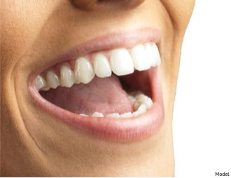 Close Up Of Smiling Teeth